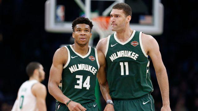 Milwaukee Bucks center Giannis Antetokounmpo