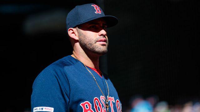 Boston Red Sox outfielder J.D. Martinez