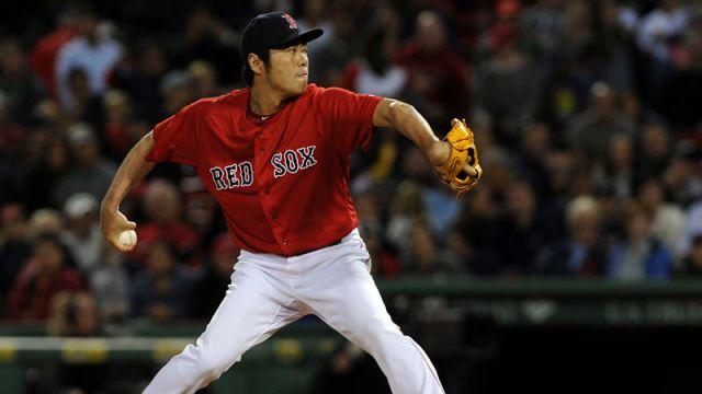 Boston Red Sox relief pitcher Koji Uehara