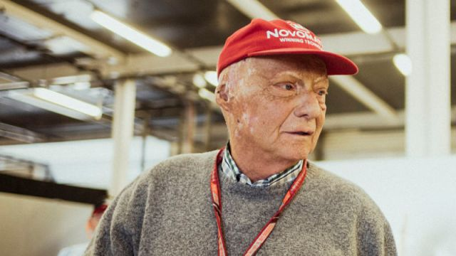Formula 1 champion Niki Lauda