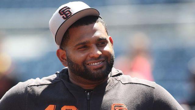 San Fransisco Giants third baseman Pablo Sandoval