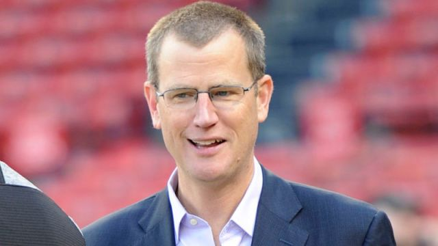 Boston Red Sox president and CEO Sam Kennedy