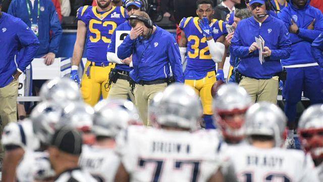 Los Angeles Rams coach Sean McVay