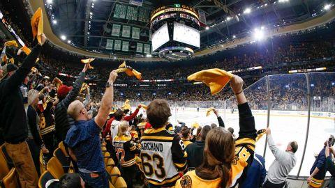 Bruins Crowd
