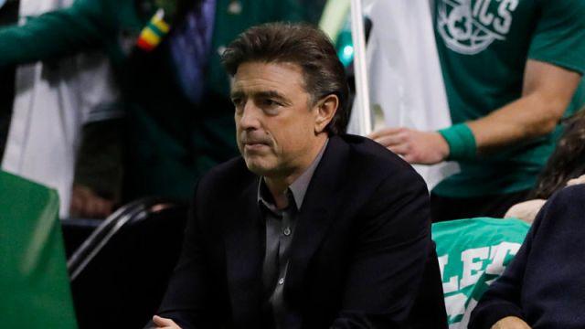 Boston Celtics owner Wyc Grousbeck