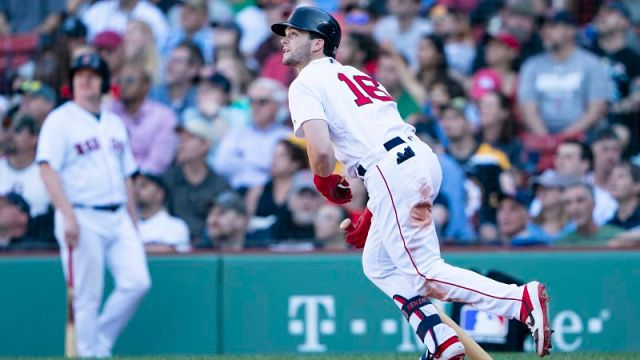 Boston Red Sox outfielder Andrew Benintendi