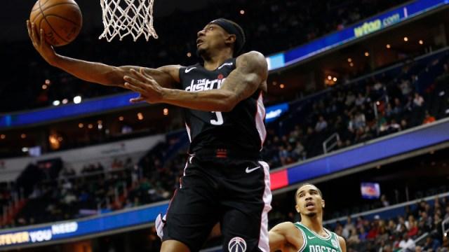 Washington Wizards guard Bradley Beal (3)