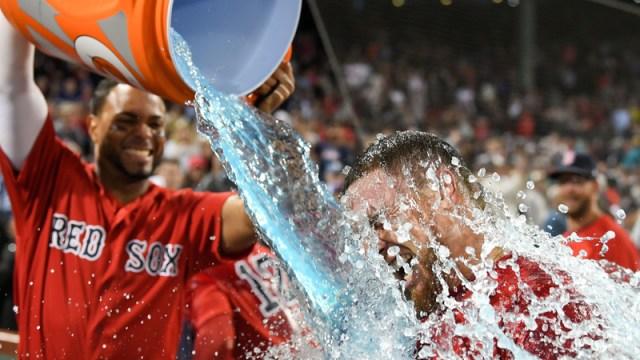 Red Sox catcher Christian Vazquez