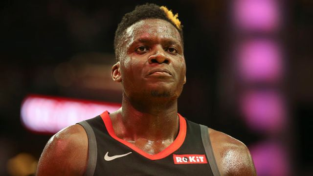 Houston Rockets forward Clint Capela