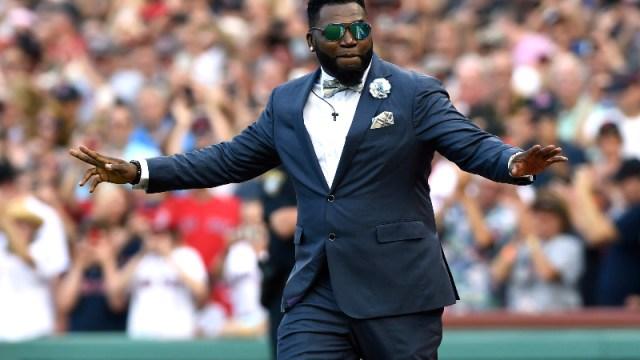 Boston Red Sox former designated hitter David Ortiz