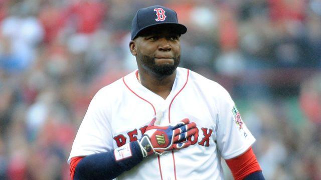Former Red Sox DH David Ortiz