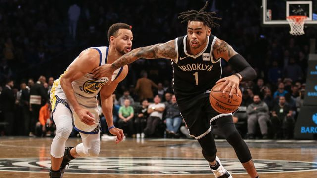 Brooklyn Nets guard D'Angelo Russell