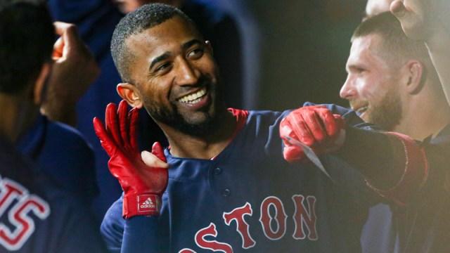 Boston Red Sox Utility Eduardo Nunez