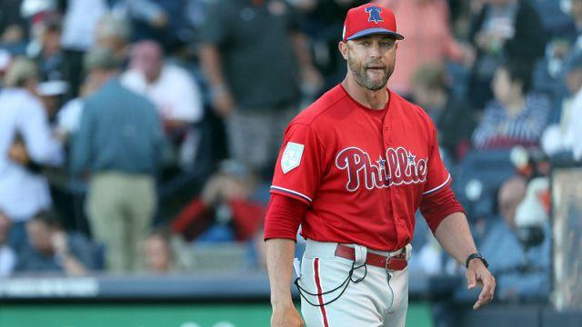 Philadelphia Phillies manager Gabe Kapler