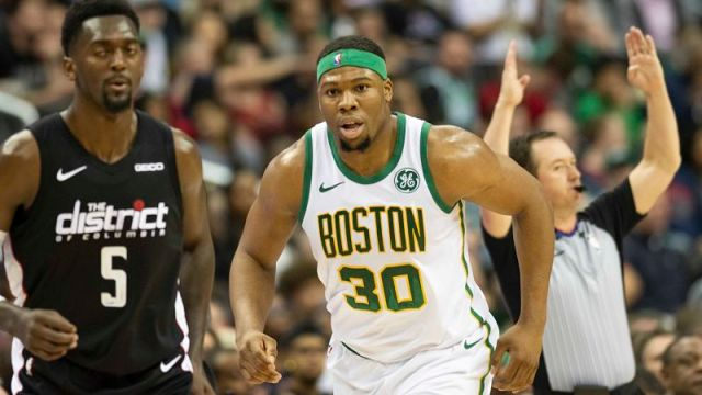 Boston Celtics forward Guerschon Yabusele