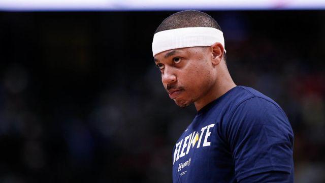 Denver Nuggets guard Isaiah Thomas