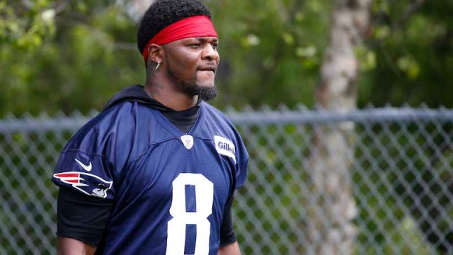 New England Patriots linebacker Jamie Collins