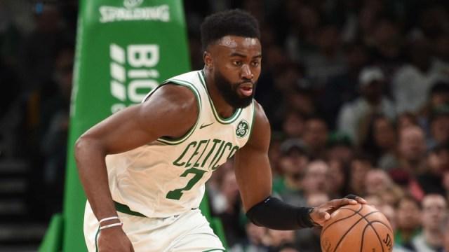Boston Celtics swingman Jaylen Brown