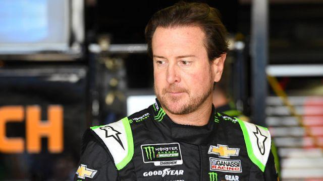 NASCAR driver Kurt Busch