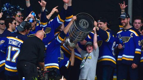 St. Louis Blues superfan Laila Anderson