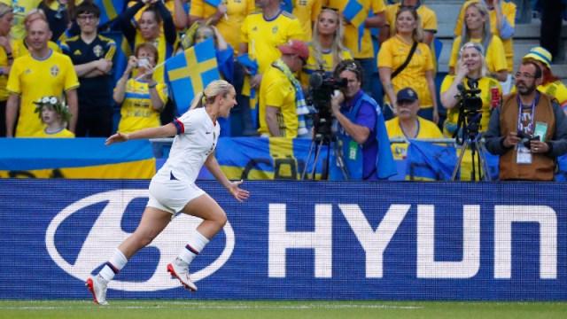 United States midfielder Lindsey Horan