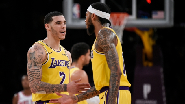 NBA's Lonzo Ball And Brandon Ingram