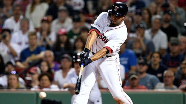 Boston Red Sox infielder Marco Hernandez