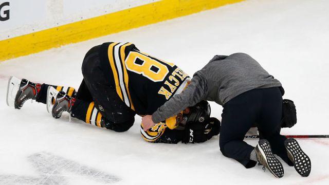 Boston Bruins defenseman Matt Grzelcyk