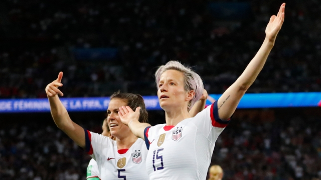 USNWT Forward Megan Rapinoe
