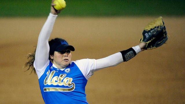 UCLA pitcher Rachel Garcia