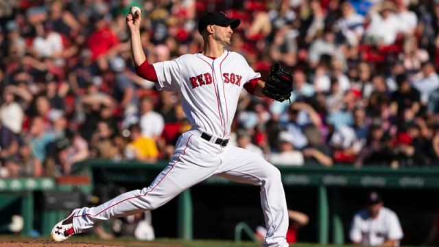 Boston Red Sox pitcher Rick Porcello