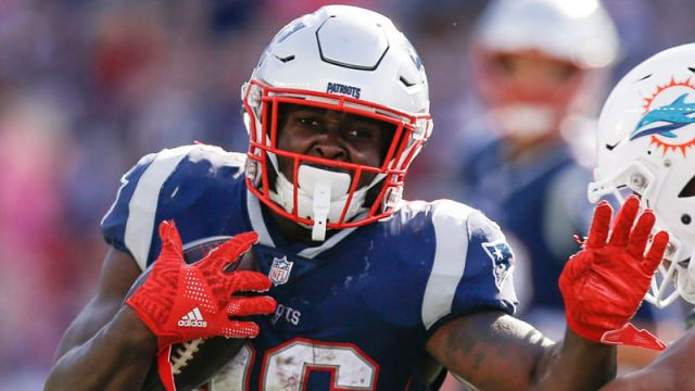 New England Patriots running back Sony Michel