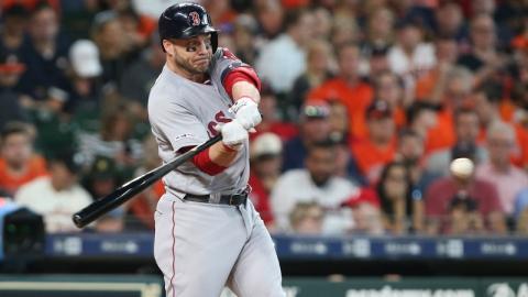Boston Red Sox's Steve Pearce