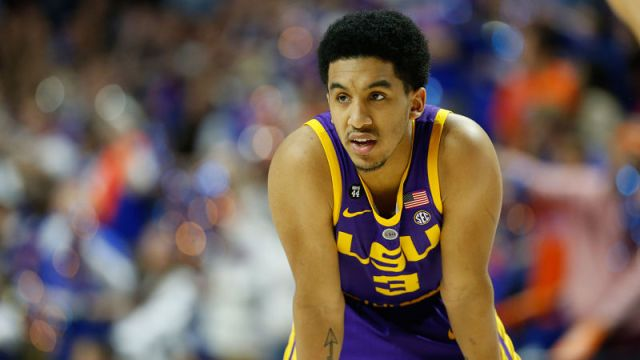 LSU Tigers guard Tremont Waters