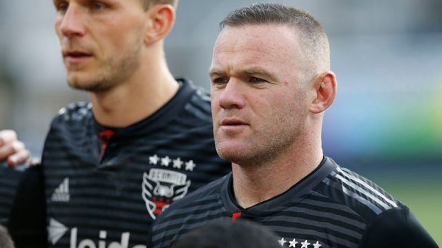 D.C. United forward Wayne Rooney
