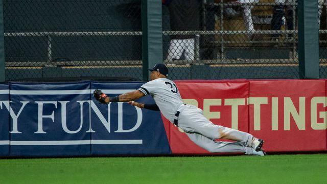 New York Yankees center fielder Aaron Hicks