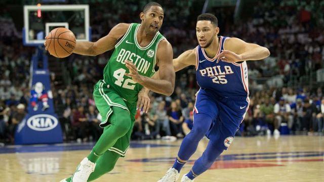 Philadelphia 76ers forward Al Horford and guard Ben Simmons