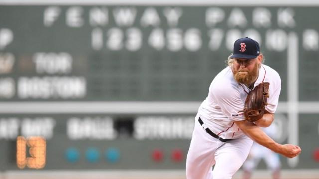 Boston Red Sox pitcher Andrew Cashner