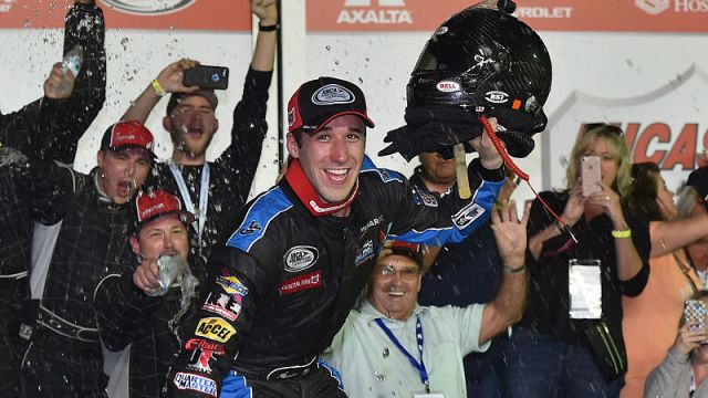 Monster Energy NASCAR Cup Series driver Austin Theriault