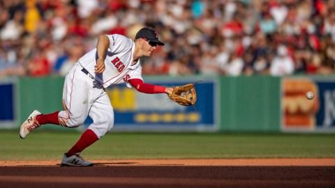 Boston Red Sox second baseman Brock Holt