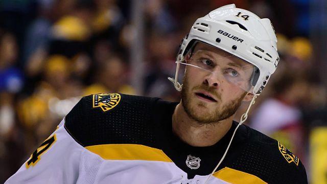 Boston Bruins forward Chris Wagner