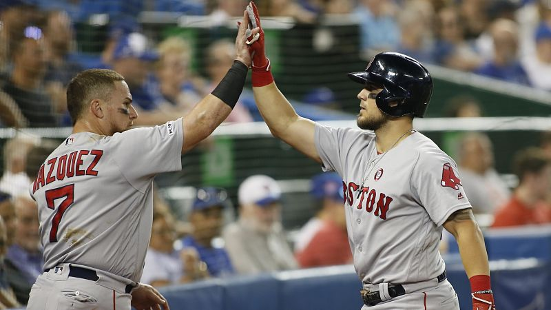 Red Sox Vs. Yankees Lineups: Christian Vazquez, Michael Chavis Start - NESN.com