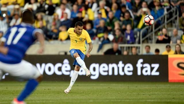 Brazil defender Dani Alves