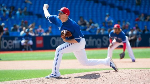 Toronto Blue Jays Pitcher Daniel Hudson