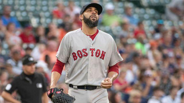 Boston Red Sox pitcher David