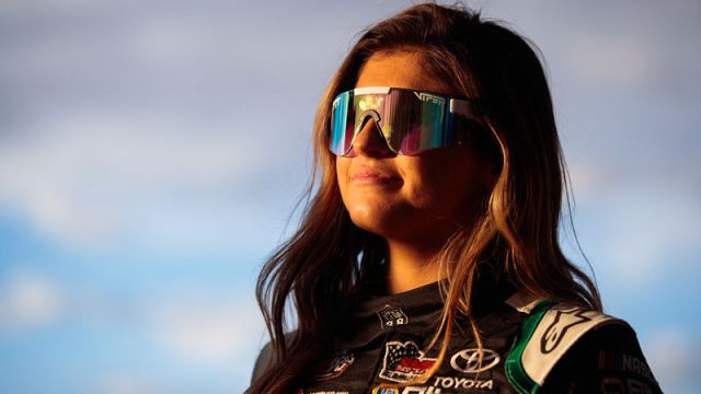NASCAR driver Hailie Deegan