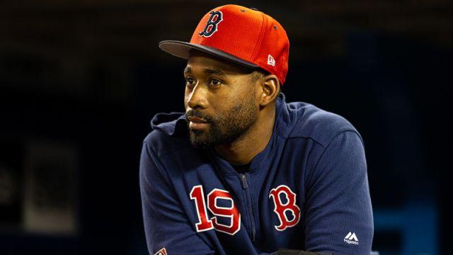 Boston Red Sox center fielder Jackie Bradley Jr.