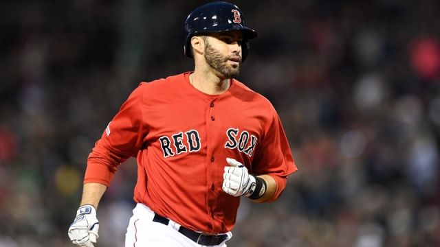 Boston Red Sox DH JD Martinez