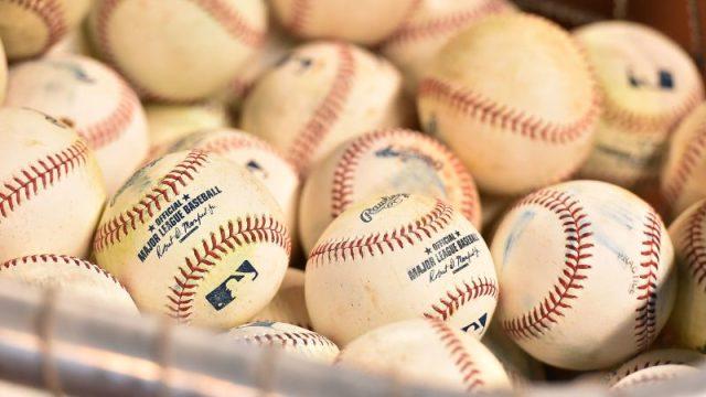 Major League Baseball balls