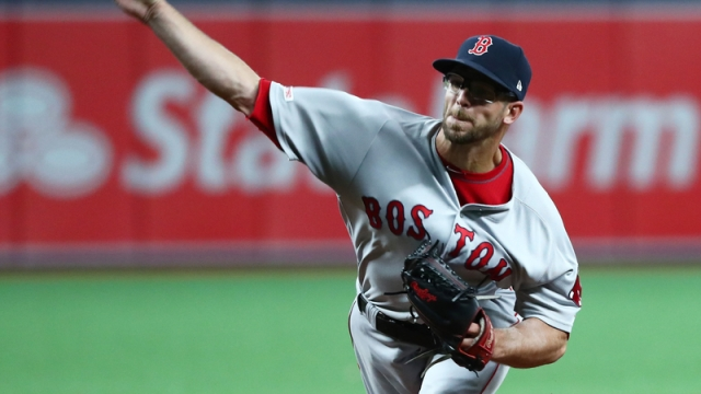 Boston Red Sox Pitcher Marcus Walden